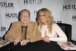 Larry Flynt, Alexis Texas, at the Hustler Hollywood Grand Opening, Hustler Hollywood, CA 04-09-16. EXPA Pictures © 2016, PhotoCredit: EXPA/ Photoshot/ Martin Sloan<br /> <br /> *****ATTENTION - for AUT, SLO, CRO, SRB, BIH, MAZ, SUI only*****