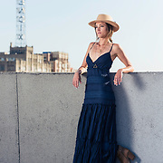 Rooftop shoot with LA model and actress, Ashley Riley. Images made at FD Photo Studios Rooftop on April 13, 2018 in Downtown Los Angeles, California. ©Michael Der