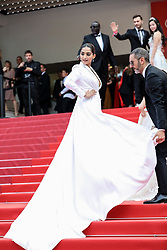 "CANNES - MAY 21: Sasha Luss arrives to the premiere of "" ONCE UPON A TIME... IN HOLYWOOD "" during the 2019 Cannes Film Festival. 21 May 2019 Pictured: Sonam Kapoor. Photo credit: Lyvans Boolaky/imageSPACE / MEGA TheMegaAgency.com +1 888 505 6342"