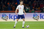 England defender John Stones during the Friendly match between Netherlands and England at the Amsterdam Arena, Amsterdam, Netherlands on 23 March 2018. Picture by Phil Duncan.