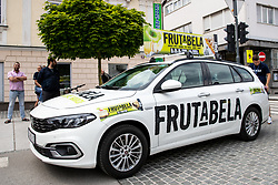 Frutabela car before 2nd Stage of 27th Tour of Slovenia 2021 cycling race between Zalec and Celje (147 km), on June 10, 2021 in Slovenia. Photo by Matic Klansek Velej / Sportida