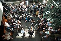 17 JUL 2013, BERLIN/GERMANY:<br /> Hans-Peter Friedrich, MdB, FDP, Bundesinnenminister, gibt ein Statemnt, nach einerSondersitzung Innenausschuss Deutscher Bundestag zum NSA Abhoerprogramm PRISM und die Reise des Innenministers in die USA in dieser Sache, Paul-Loebe-Haus<br /> IMAGE: 20130717-02-058<br /> KEYWORDS: Abhöraffäre, Affaere,Abhoerskandal, Abhörskandal, Mikrofon, microphone, Journalisten, Medien