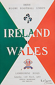 Rugby 1960-12/03  Five Nations Ireland Vs Wales