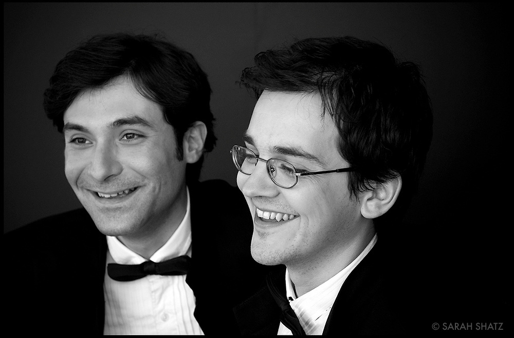 Lachezar Kostov, cellist, and Viktor Valkov, pianist