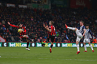 Football - 2017 / 2018 Premier League - AFC Bournemouth vs. West Bromwich Albion<br /> <br /> Chris Brunt of West Bromwich Albion gets a shot on goal at Dean Court (Vitality Stadium) Bournemouth <br /> <br /> COLORSPORT/SHAUN BOGGUST