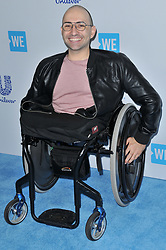 Spencer West arrives at We Day California 2017 held at The Forum in Inglewood, CA on Thursday, April 27, 2017. (Photo By Sthanlee B. Mirador) *** Please Use Credit from Credit Field ***