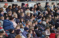 Photo: Leigh Quinnell.<br /> Wycombe Wanderers v Shrewsbury Town. Coca Cola League 2. 11/03/2006. The wycombe crowd.