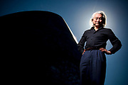 """Michio Kaku, presenter of """"Physics of the impossible at The Greenwich Obsevatory, London, UK."""