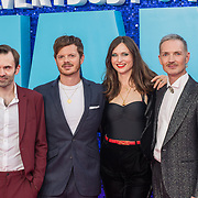 The Feeling attended 'Everybody's Talking About Jamie' film premiere at Royal Festival Hall, London, UK. 13 September 2021