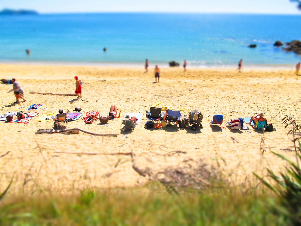Golden sand beach a few minutes west of Kaiteriteri beach,Tasman Nelson