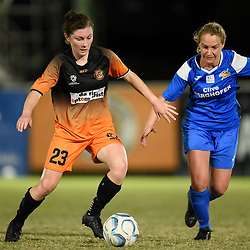 BRISBANE, AUSTRALIA - AUGUST 8:  during the NPL Queensland Senior Womens Round 21 match between Eastern Suburbs FC and SWQ Thunder at Heath Park on August 8, 2020 in Brisbane, Australia. (Photo by Patrick Kearney)