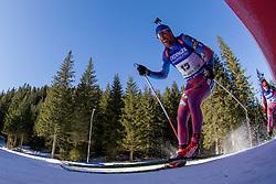 Alexey Slepov (RUS) during Men 15 km Mass Start at day 4 of IBU Biathlon World Cup 2015/16 Pokljuka, on December 20, 2015 in Rudno polje, Pokljuka, Slovenia. Photo by Urban Urbanc / Sportida