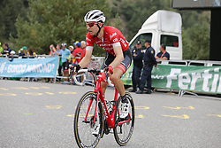 September 15, 2018 - Sant Julia De Loria, SPAIN - Dutch Bauke Mollema of Trek-Segafredo pictured during the 20th stage of the 'Vuelta a Espana', Tour of Spain cycling race, 97,3km from Escaldes-Engordany to Sant-Julia de Loria, Spain, Saturday 15 September 2018. ..BELGA PHOTO YUZURU SUNADA FRANCE OUT. (Credit Image: © Yuzuru Sunada/Belga via ZUMA Press)