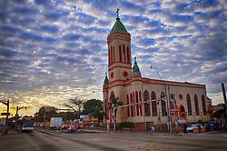 A Paróquia São Jorge foi criada em 26 de dezembro de 1952, por decreto de Dom Vicente Scherer.  Está cituada na Av. Bento Gonçalves esquina com Av. Salvador França.
