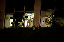December 17, 2018 - Athens, Greece - A bomb exploded outside the main building of Greece's Skai TV station at 2:30 am local time on Sunday..There were no injuries or victims as an anonymous phone-call alerted authorities of the threat. (Credit Image: © Eurokinissi via ZUMA Wire)