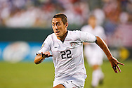 July 18 2009: Davy Arnaud of USA during the game between USA and Panama. The United States defeated Panama 2-1 in added extra time in a CONCACAF Gold Cup quarter-final match at Lincoln Financial Field in Philadelphia, Pennsylvania.