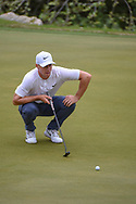 Alex Noren (SWE) lines up his putt on 2 during day 5 of the World Golf Championships, Dell Match Play, Austin Country Club, Austin, Texas. 3/25/2018.<br /> Picture: Golffile | Ken Murray<br /> <br /> <br /> All photo usage must carry mandatory copyright credit (© Golffile | Ken Murray)