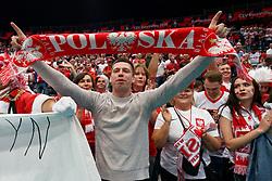 16-09-2019 NED: EC Volleyball 2019 Poland - Czech Republic, Rotterdam<br /> First round group D / Support Fans Poland