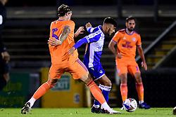 Lucas Tomlinson of Bristol Rovers - Mandatory by-line: Ryan Hiscott/JMP - 28/08/2020 - FOOTBALL - Memorial Stadium - Bristol, England - Bristol Rovers v Cardiff City - Pre Season Friendly