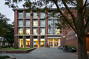 This is the A. B. Freeman School of Business at Tulane University in New Orleans. ©Kathy Anderson