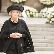 LUX/Luxemburg/20190504 - Funeral of HRH Grand Duke Jean/Uitvaart Groothertog Jean, Prinses Beatrix