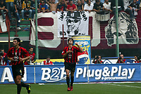 Milano, 3-10-04<br /> <br /> Campionato Serie A 2004-05<br /> <br /> Milan Reggina 3-1 <br /> <br /> nella  foto Ricardo Kaka Milan esulta dopo il gol<br /> <br /> Ricardo Kaka Milan celebrates his goal<br /> <br /> Foto Snapshot / Graffiti