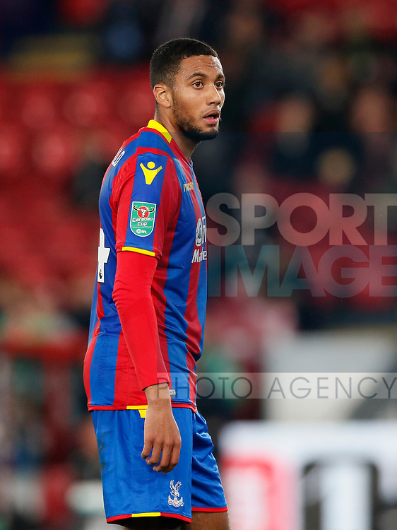 Crystal Palace's Jairo Riedewald in action during the Carabao cup match at Selhurst Park Stadium, London. Picture date 19th September 2017. Picture credit should read: David Klein/Sportimage