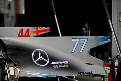 August 24, 2017 - Spa-Francorchamps, Belgium - Motorsports: FIA Formula One World Championship 2017, Grand Prix of Belgium, .technical detail, Mercedes AMG Petronas F1 Team  (Credit Image: © Hoch Zwei via ZUMA Wire)