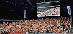 27-09-2015 NED: Volleyball European Championship Nederland - Polen, Apeldoorn<br /> Nederland verslaat Polen met 3-1 / Omnisport Apeldoorn kleurt Oranje