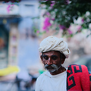 Man in the streets od Jodhpur old town