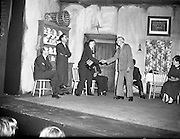 Cast of play - Gael Linn .14/05/1958 Accordion, player, irish music drama, .