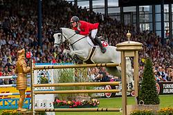 Balsinger Bryan, SUI, Clouzot de Lassus<br /> CHIO Aachen 2019<br /> Weltfest des Pferdesports<br /> © Hippo Foto - Stefan Lafrentz<br /> Balsinger Bryan, SUI, Clouzot de Lassus
