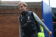 Jurgen Klopp, the Liverpool manager arrives at Selhurst Park before the match. Premier League match, Crystal Palace v Liverpool at Selhurst Park in London on Saturday 29th October 2016.<br /> pic by John Patrick Fletcher, Andrew Orchard sports photography.