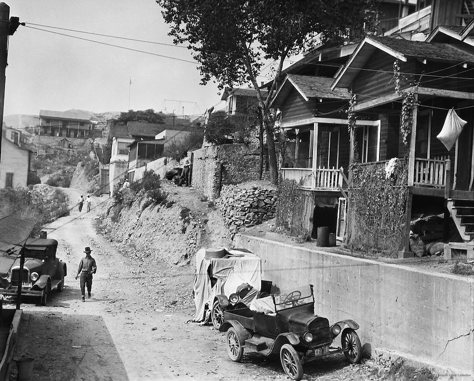 Mining settlement, Superior City, Arizona, USA, 1926