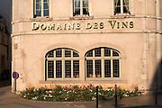 wine shop domaine des vins beaune cote de beaune burgundy france