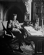 Alexander Feodorovich Kerensky (1881-1970) Russian revolutionary leader. Minister for war in 1917.