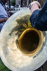 Edinburgh Jazz and Blues Festival launch, The Mound, 13 July 2018