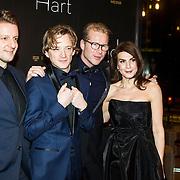 NLD/Amsterdam/20150112 - Film premiere Onder het Hart, Alex Klaassen, ....., Leo Alkemade, Kim van Kooten