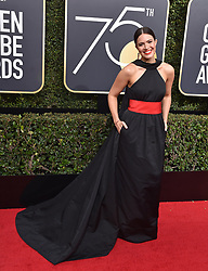 74th Annual Golden Globe Awards - Arrivals. The Beverly Hilton Hotel, Beverly Hills, CA. Pictured: Allison Williams. EVENT January 8, 2016. 07 Jan 2018 Pictured: Mandy Moore. Photo credit: AXELLE/BAUER-GRIFFIN/MEGA TheMegaAgency.com +1 888 505 6342