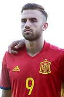 Spain's Borja Mayoral during international sub 21 friendly match. September 1,2017.(ALTERPHOTOS/Acero)