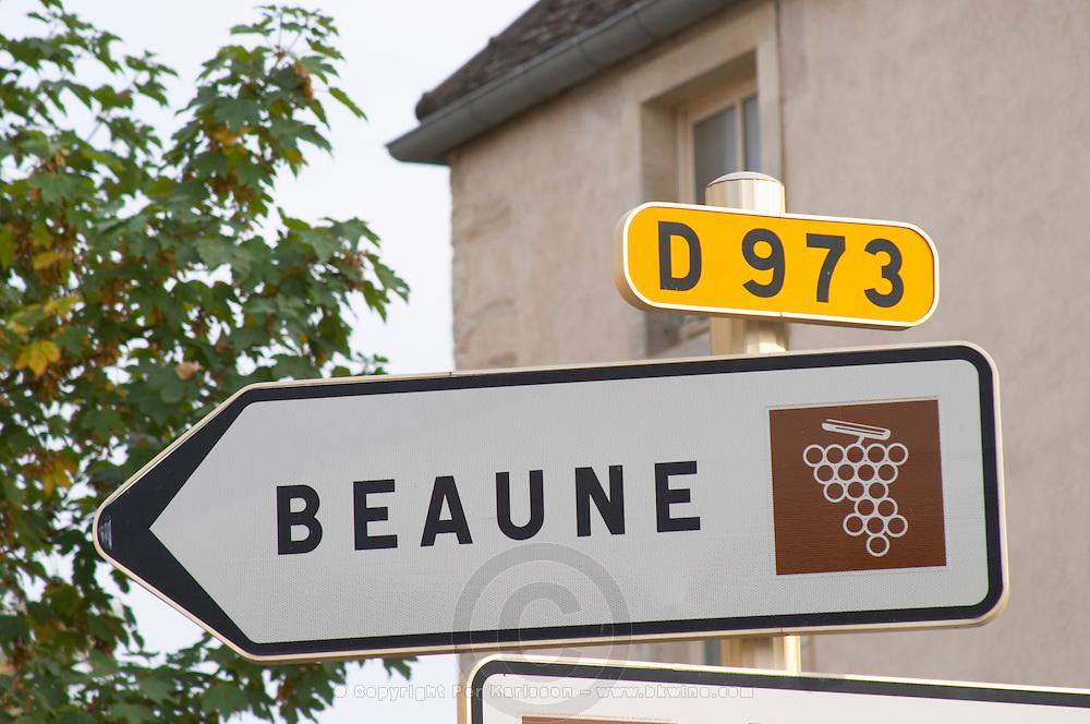 Beaune. The village. Pommard, Cote de Beaune, d'Or, Burgundy, France