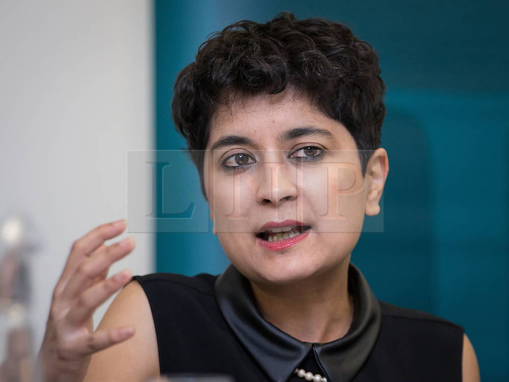 © Licensed to London News Pictures . 29/09/2013 . Manchester , UK . SHAMI CHAKRABARTI at a fringe event organised by Liberty . Day 1 of the Conservative Party Conference at Manchester Central . Photo credit : Joel Goodman/LNP