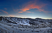 SHOT 3/2/17 7:18:54 PM - Park City, Utah lies east of Salt Lake City in the western state of Utah. Framed by the craggy Wasatch Range, it's bordered by the Deer Valley Resort and the huge Park City Mountain Resort, both known for their ski slopes. Utah Olympic Park, to the north, hosted the 2002 Winter Olympics and is now predominantly a training facility. In town, Main Street is lined with buildings built primarily during a 19th-century silver mining boom that have become numerous restaurants, bars and shops. (Photo by Marc Piscotty / © 2017)