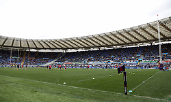 A general view before kick-off in the NatWest 6 Nations match at the Stadio Olimpico, Rome.