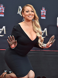 Mariah Carey Hand and Footprint Ceremony. TCL Chinese Theatre, Hollywood, California. EVENT November 1, 2017. 01 Nov 2017 Pictured: Mariah Carey. Photo credit: AXELLE/BAUER-GRIFFIN / MEGA TheMegaAgency.com +1 888 505 6342