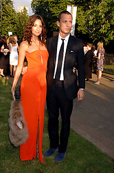 VISCOUNT MACMILLAN and ASTRID MUNOZ at the annual Serpentine Gallery Summer Party in association with Swarovski held at the gallery, Kensington Gardens, London on 11th July 2007.<br /><br />NON EXCLUSIVE - WORLD RIGHTS
