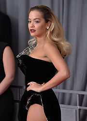 Rita Ora attends the 60th Annual GRAMMY Awards at Madison Square Garden on January 28, 2018 in New York City, NY, USA. Photo by Lionel Hahn/ABACAPRESS.COM