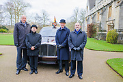 Oxford, GREAT BRITAIN., Royal visit to Magdalen College, by Her Majesty the Queen, Royal Highness the Duke of Edinburgh, Thursday 27/11/2008, [Mandatory Credit Peter Spurrier] Oxford, GREAT BRITAIN., Royal visit to Magdalen College, 2002 Bentley State Limousine  Royal Limousine,  Thursday 27/11/2008, [Mandatory Credit Peter Spurrier]