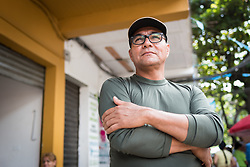 "17 November 2018, Dabeiba, Antioquia, Colombia: ""Harrison"", the name by which he is known as a former commander in the Armed Revolutionary Forces of Colombia (FARC) is one of many ex-combatants currently trying to reconstruct their lives peacefully in Colombian civil society, following the 2016 peace treaty between the FARC Guerilla and the Colombian government. Challenges remain, however, as armed groups remain active in northwest Colombia, a strategically important corridor for trade into Central America, and ex-combatants face both stigma, threats of assassination, and suffer from a lack of fulfilment by the government on transfering ownership of lands to former guerilla combatants, which leads both to vulnerability and instability for life in the countryside. The Evangelical Lutheran Church of Colombia accompanies communities of ex-combatants, as well as the communities into which they are reintegrating, to help alleviate the risk of re-victimization or relapse into violent conflict."
