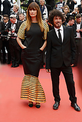 May 14, 2019 - Cannes, France - CANNES, FRANCE - MAY 14: Caroline de Maigret and Yarol Poupaud attend the opening ceremony and screening of ''The Dead Don't Die'' during the 72nd annual Cannes Film Festival on May 14, 2019 in Cannes, France. (Credit Image: © Frederick InjimbertZUMA Wire)